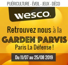 Wesco - Evenement Garden Parvis